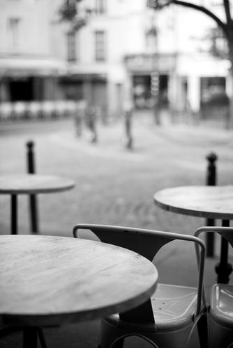 Place Contrescarpe Ferien & Urlaub & Reisen Restaurant Paris Frankreich Hauptstadt Altstadt Haus Gebäude genießen sitzen warten historisch schön Quartier Latin