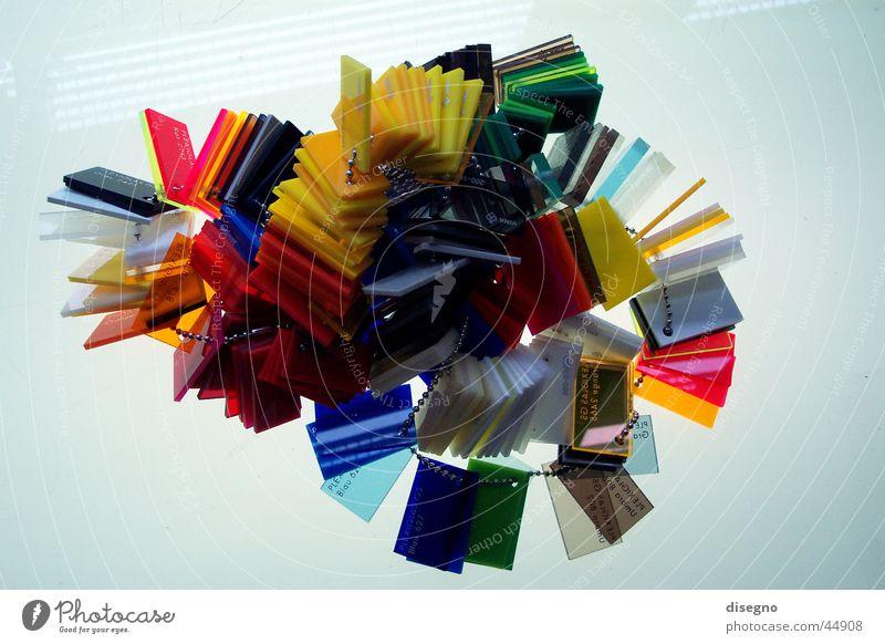 plexikett Acryl mehrfarbig Industrie Kette Farbe