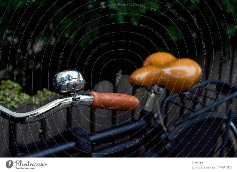 Fahrradl Stil Fahrradfahren ästhetisch Originalität positiv retro Freizeit & Hobby Fahrradsattel Fahrradlenker Fahrradklingel Anschnitt Chrom Farbfoto