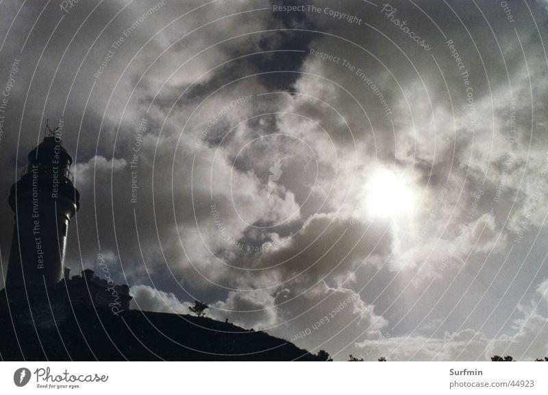 Leuchtturm Gewitter Australien Wolkenformation Byron