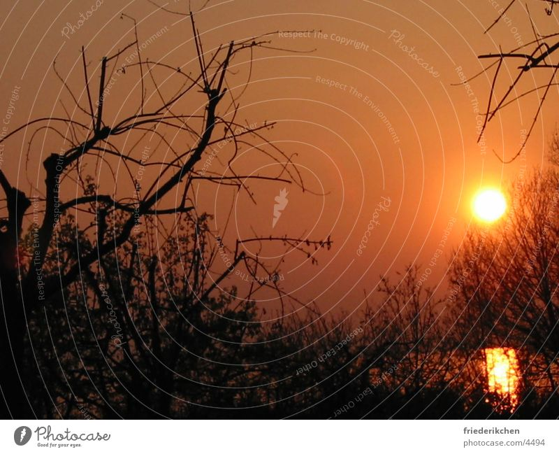 Sundown Sonne Abenddämmerung