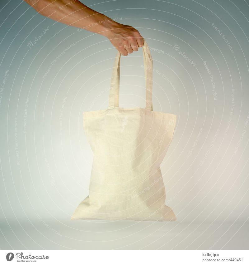alles jute Mensch Mann Hand Erwachsene maskulin Arme kaufen Güterverkehr & Logistik festhalten Stoff Hautfalten Werbung nachhaltig Markt Tüte tragen