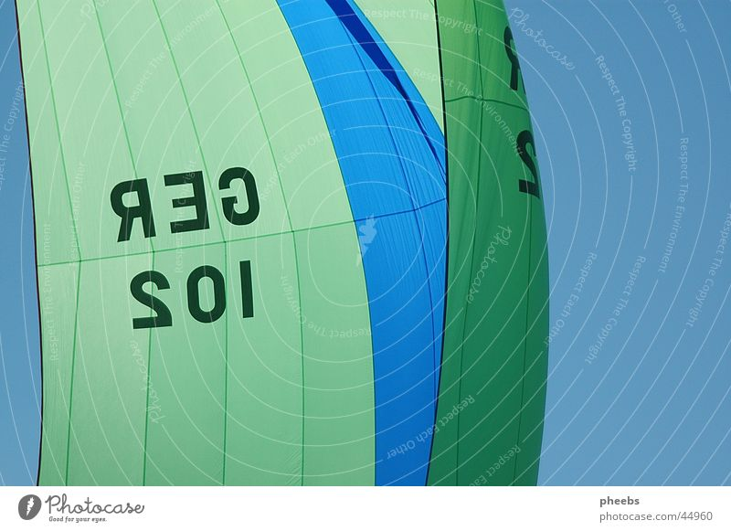 sail to heaven Spinnaker Yachting Segeln See Attersee Regatta Freizeit & Hobby Himmel Freiheit Wasser Joker European Open UYCAs