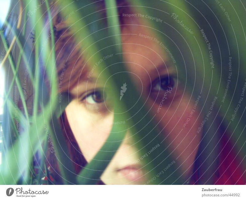 Mädchen im (Großstadt-) Dschungel Frau Natur feminin Denken Palme selbstgemacht