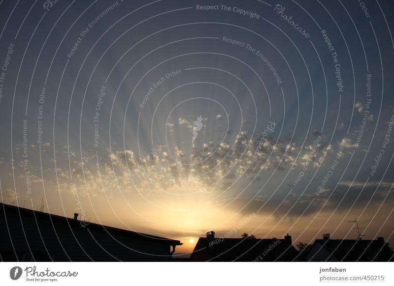 Sonnenstrahlen Himmel Natur Wolken Wärme Freiheit natürlich Horizont Schönes Wetter Unendlichkeit