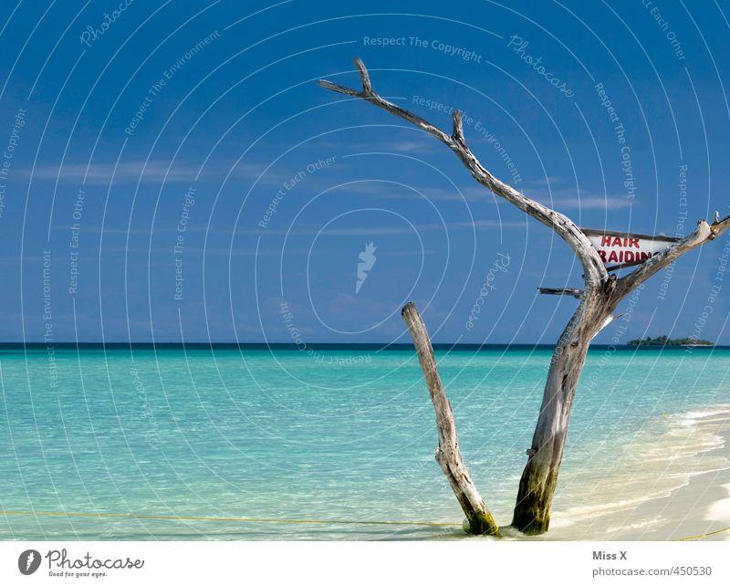 Barry´s Ferien & Urlaub & Reisen Sommer Sonne Baum Meer Erholung Strand Ferne Haare & Frisuren Freiheit Stimmung Wellen Tourismus Schönes Wetter Insel Abenteuer