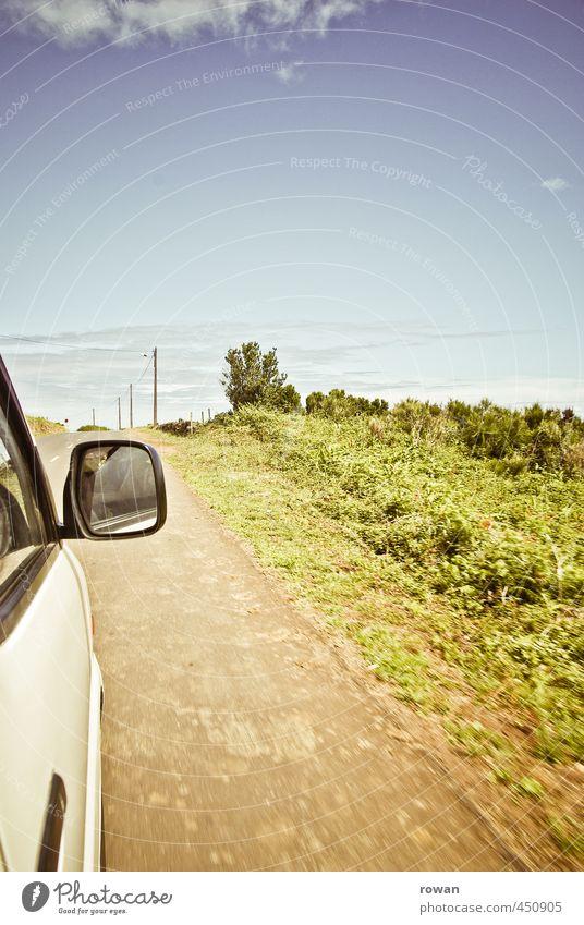 fahrt Verkehr Verkehrsmittel Verkehrswege Personenverkehr Straßenverkehr Autofahren Wege & Pfade Fahrzeug PKW Wohnmobil Ferne Fahrtwind Ferien & Urlaub & Reisen