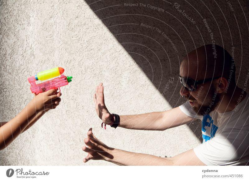 Auf der dunklen Seite der Macht Lifestyle Leben Spielen Mensch Junge Junger Mann Jugendliche 2 3-8 Jahre Kind Kindheit 18-30 Jahre Erwachsene Mauer Wand