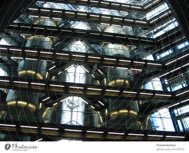 Inside Gebäude Architektur Deutschland Glas Industrie Industriefotografie Stahl Treppenhaus Charakter Fabrikhalle Produktion Heidelberg Druckmaschine Industriebau