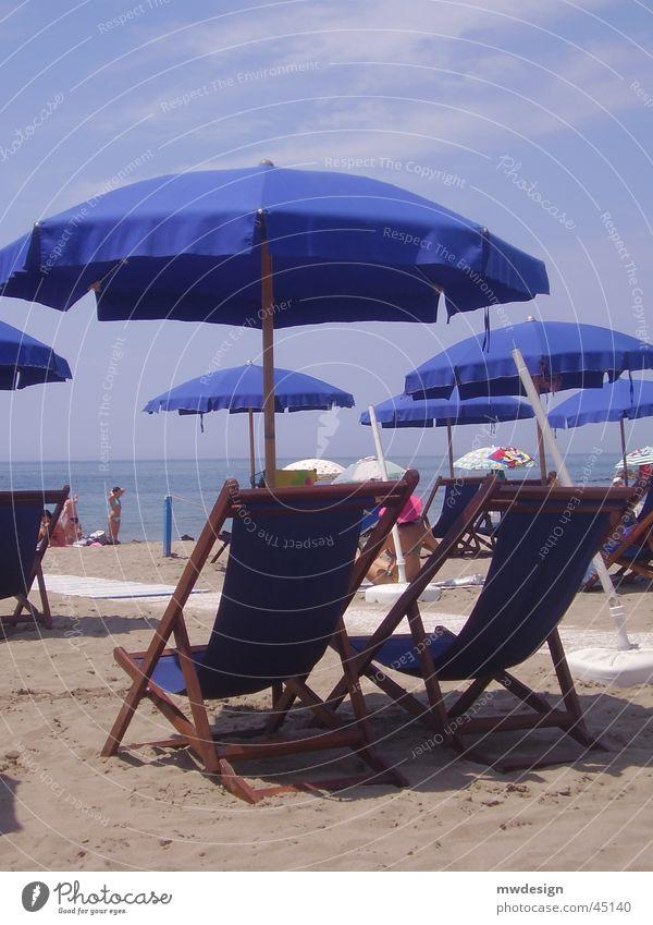 strand Sonne Meer Strand Italien Liege Korb