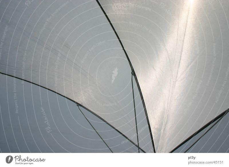 sunbrella Sonne Beleuchtung Stoff obskur Sonnenschirm durchsichtig Drahtgestell