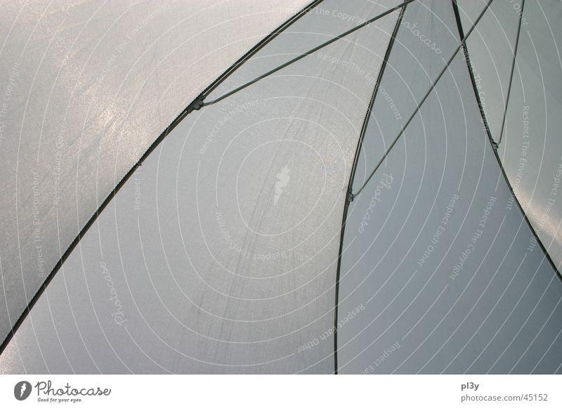 sunbrella 2 Sonnenschirm Licht durchscheinend Gestell Draht obskur durchsichtig Metall
