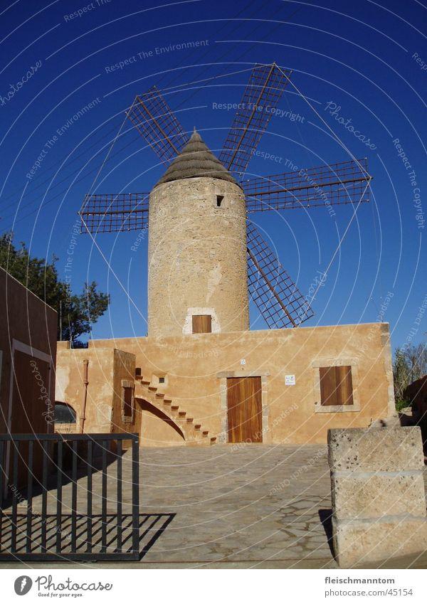 Windmühle auf Mallorca Architektur