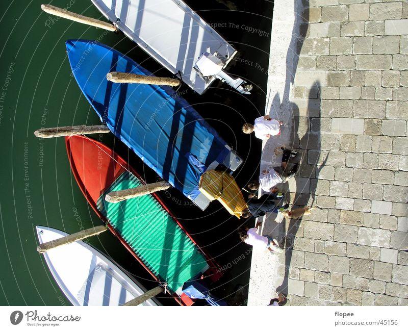 Boote am Abend Kind Wasserfahrzeug Suche Europa Italien Anlegestelle Venedig Fischer