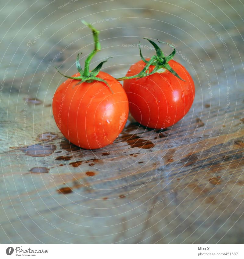 Tomate rot Gesundheit frisch nass Ernährung Sauberkeit rund Gemüse lecker Bioprodukte saftig Diät Vegetarische Ernährung Zutaten Italienische Küche