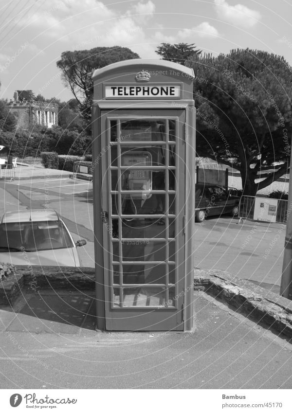 Rrrriiiing Telefon Dinge Führerhaus Telefonzelle Kabäuschen