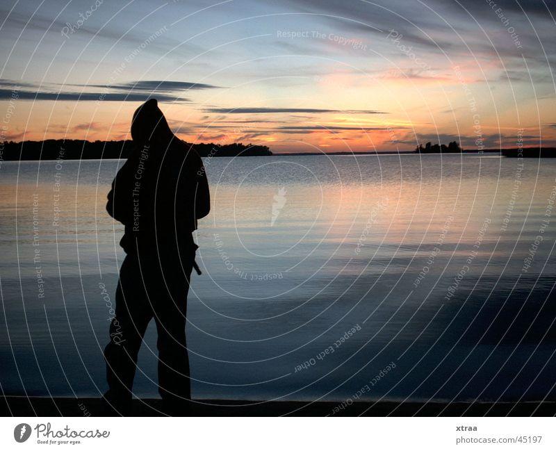 dawn fishing sweden Natur See Europa Camping Angeln Schweden