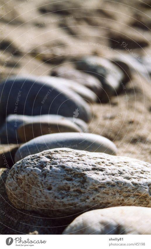 stones Strand Stein Sand Reihe