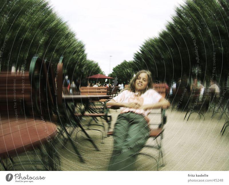Relax Frau Freizeit & Hobby Café Bildbearbeitung Weichzeichner