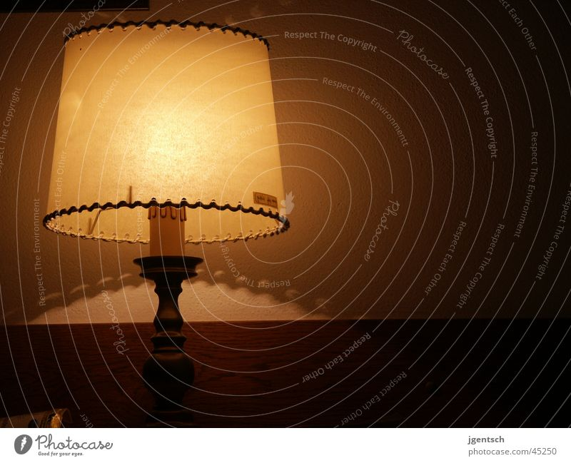 Lampe Raum Hotel Wand Häusliches Leben Regenschirm Beleuchtung