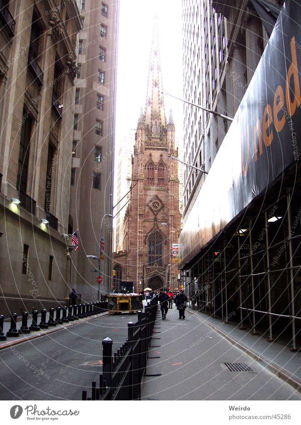 ..:: NYC ::.. Religion & Glaube New York City Gasse Nordamerika Seitenstraße