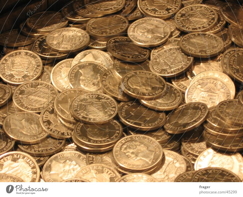 Münzen / Geld Dinge Geldmünzen Taler Geldverkehr alte Münzen