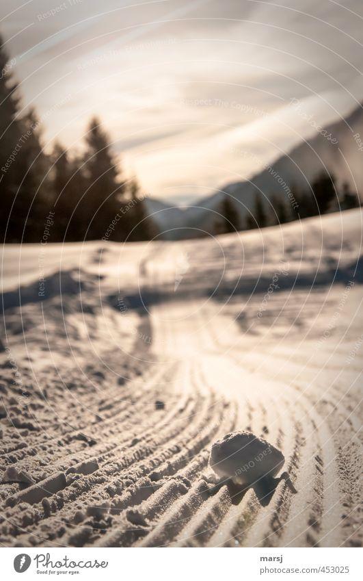 Sb auf Www Ferne Freiheit Winter Schnee Winterurlaub Berge u. Gebirge wandern Natur Landschaft Himmel Schönes Wetter Eis Frost Wald Hügel Schneelandschaft