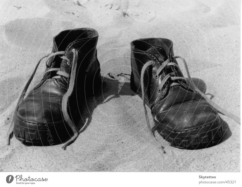 Der Weg Meer Sand Schuhe Freizeit & Hobby Fußspur Camel