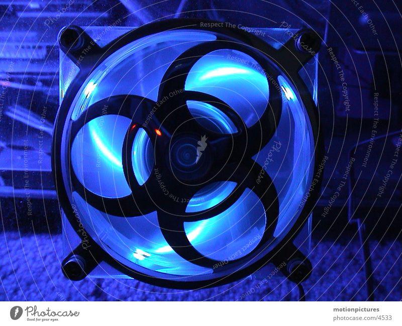 cool lifter Computer Belüftung Kühlung Elektrisches Gerät Technik & Technologie blau Leuchtdiode PC-Lüfter kalt