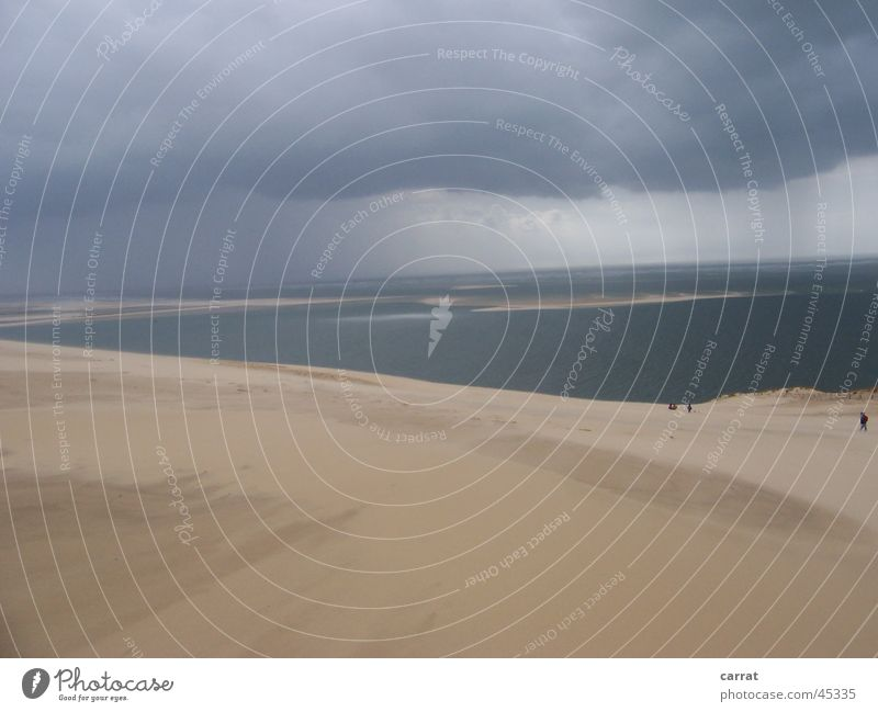 Düne von Pyla Strand Ferien & Urlaub & Reisen Frankreich Stranddüne Atlantik Arcachon Dune du Pyla