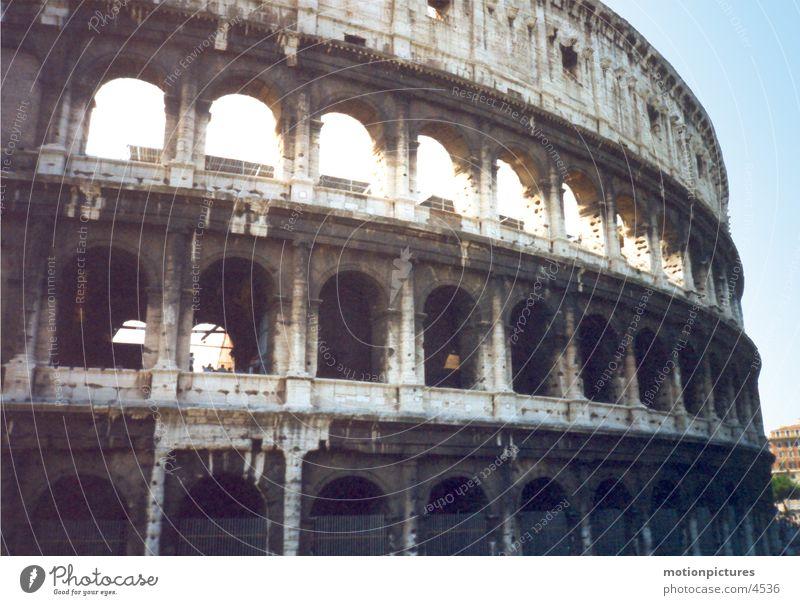 Rom 2002 Kolosseum Rom Theater Kolosseum Amphitheater