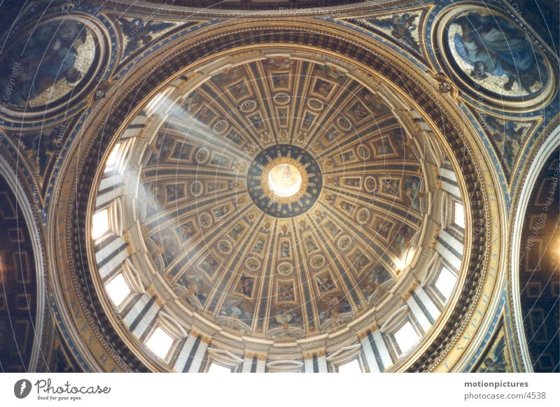 Rom Trip 2002 Petersdom (Nebenkuppel) Religion & Glaube Dom Kuppeldach Vatikan