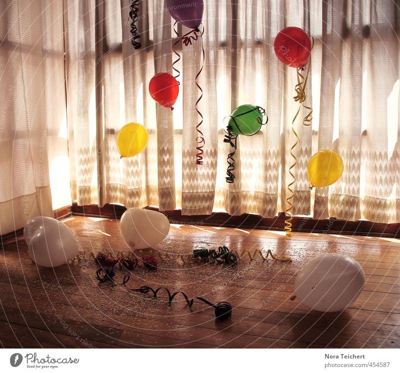Überraschung Freude Holz Kunst Feste & Feiern Party Dekoration & Verzierung Geburtstag Luftballon Silvester u. Neujahr Veranstaltung Vorfreude Vorhang Gardine