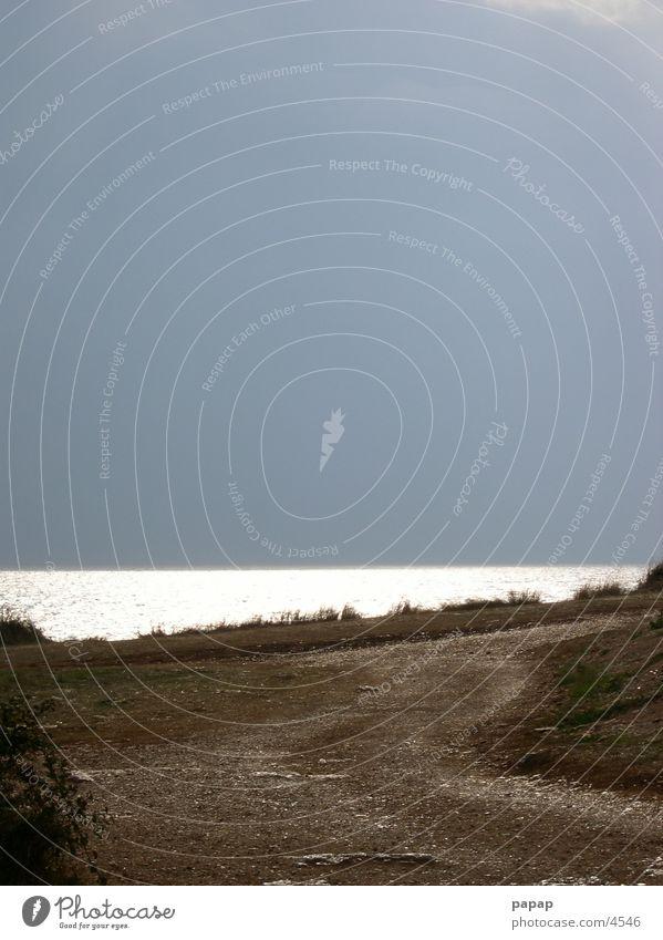 Mittelmeer Impression Küste Horizont Europa
