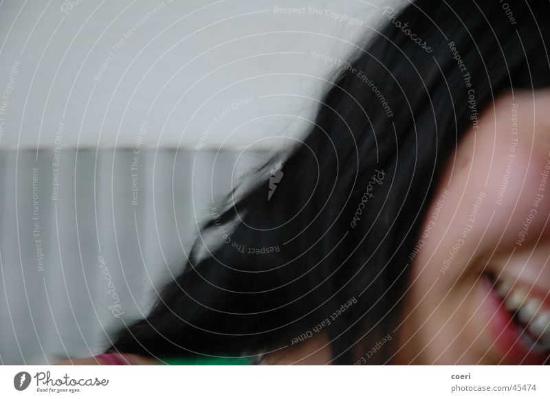 anna Asiate Frau lachen Unschärfe monentaufnahme Gesicht