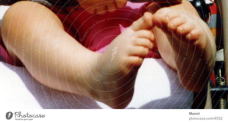 Füße Mensch Fuß Kinderfuß