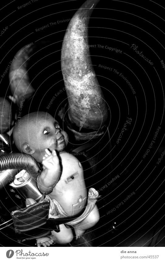 motorradbaby obskur Motorrad Horn Fahrradlenker Babypuppe