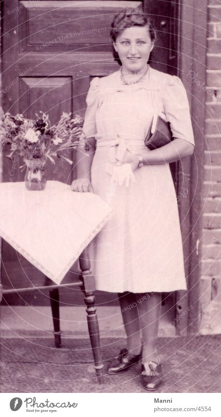 Junge Dame Anno 1944 Frau Altertum