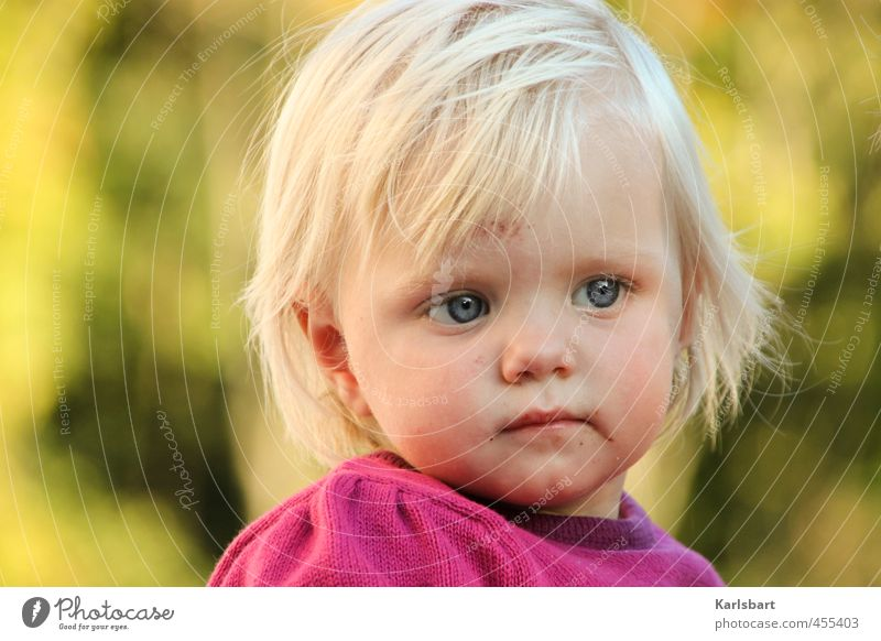 Tag Träumchen Mensch Kind Natur Sommer Erholung Mädchen Herbst Bewegung Glück Kopf Gesundheit Gesundheitswesen blond Kindheit Schönes Wetter lernen