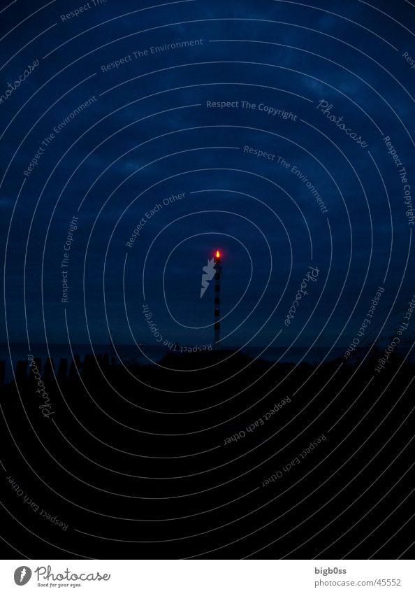 Leuchttürmchen Leuchtturm Niederlande Nacht Europa kleiner Leuchtturm bigb0ss