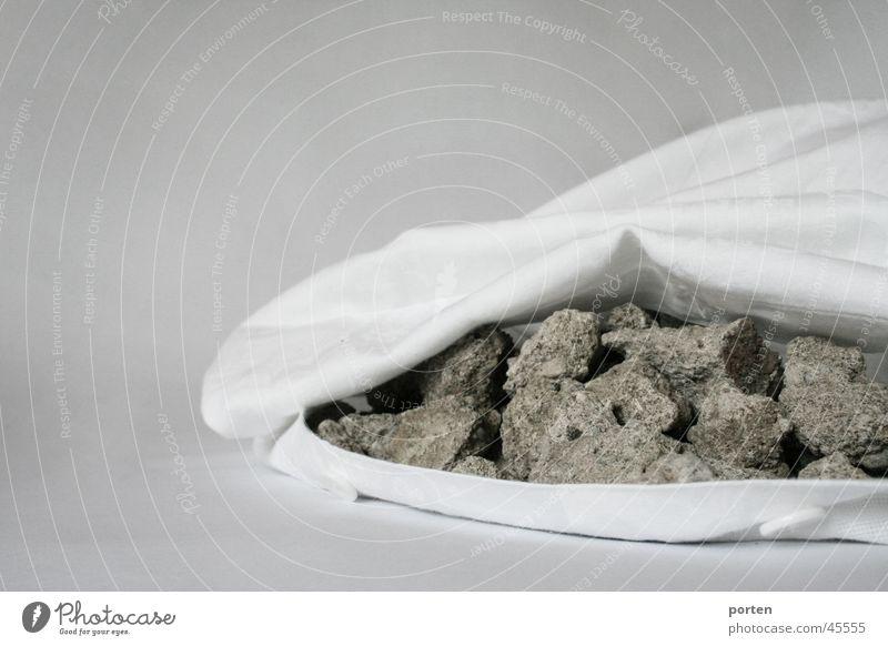 Das Gemütliche Stein schlafen obskur Kissen