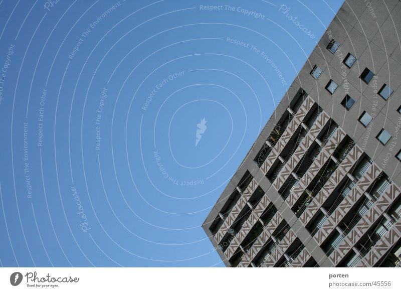 Plattenbau Haus Architektur Hochhaus Baustelle