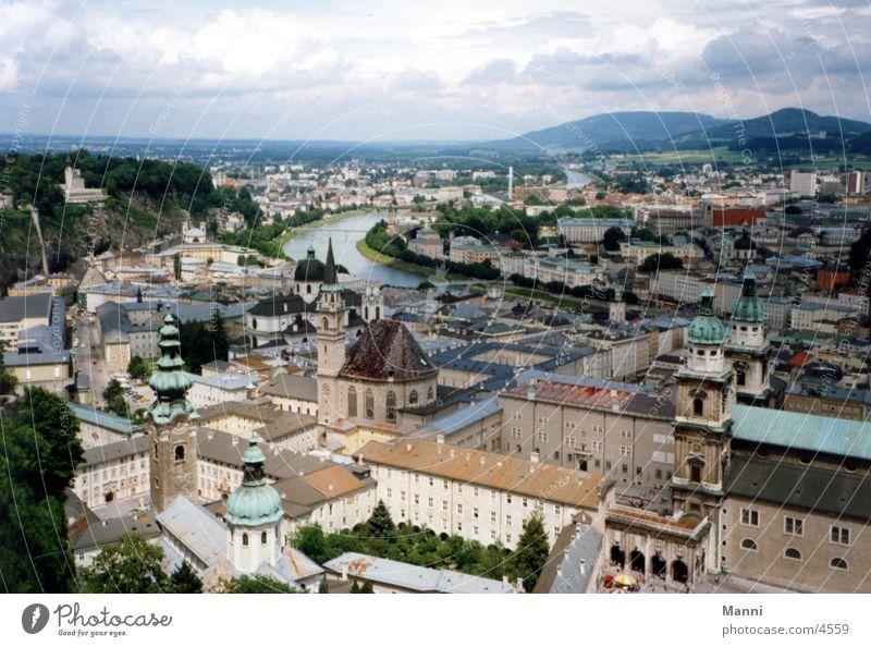 Salzburg Stadt Österreich Europa