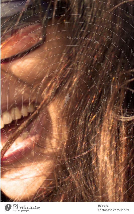 summer smile Mensch Frau Ferien & Urlaub & Reisen Sonne Sommer Freude Gesicht Haare & Frisuren lachen Glück Zufriedenheit Wind blond Mund frei Zähne