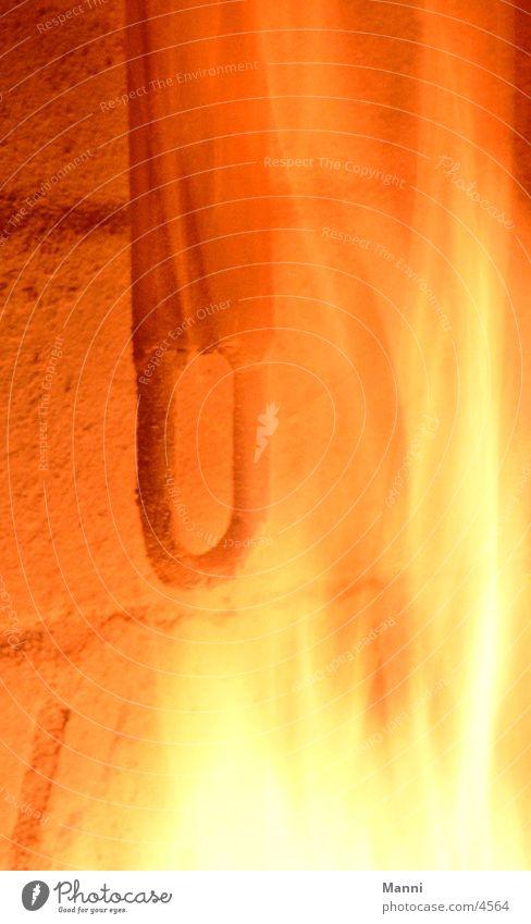 Ausgebrannt Metall Brand Eisen glühend