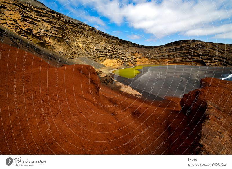 Spanien Moschus Teich Felsen Stein Himmel Wasser Ferien & Urlaub & Reisen Tourismus Ausflug Sommer Strand Meer Insel Wellen Natur Landschaft Sand Wolken Hügel