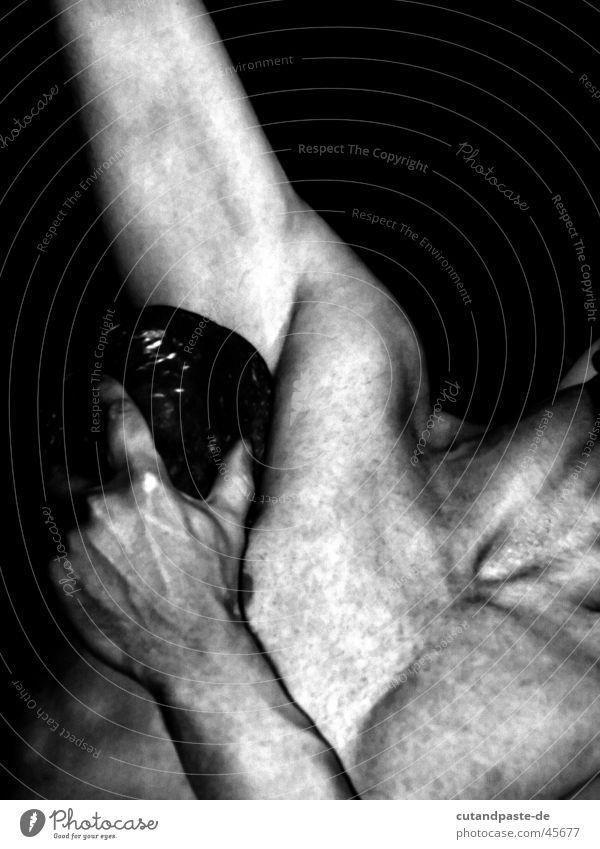 beautiful man Performance ästhetisch schwarz weiß Mann Theaterschauspiel Mensch Tänzer Schwarzweißfoto high key low Low Key