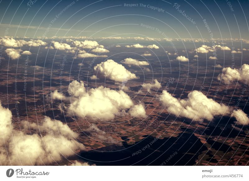 fluffy Himmel Natur blau Wolken Umwelt natürlich Erde Schönes Wetter Urelemente
