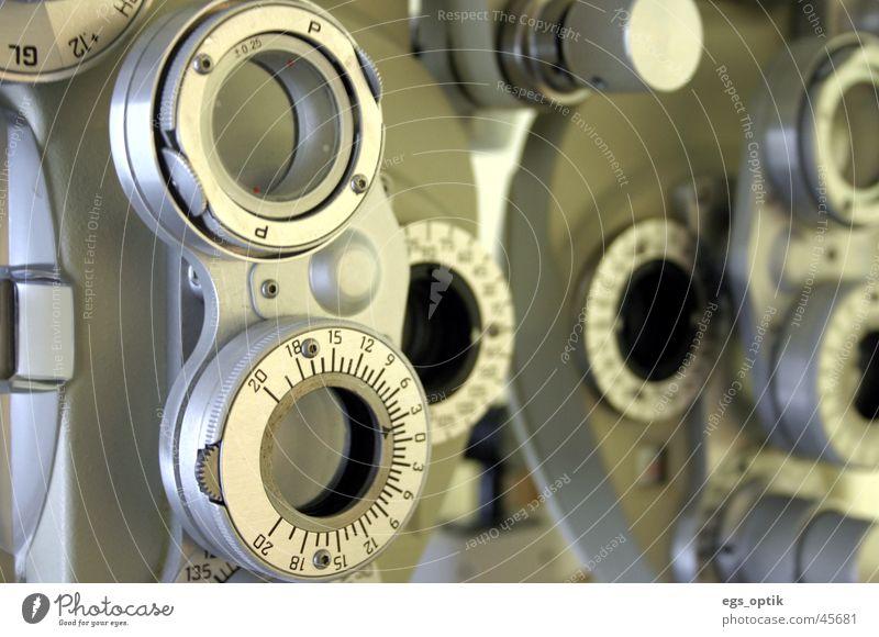phoropter Technik & Technologie Brille Linse Sehvermögen Elektrisches Gerät Brillenglasstärke