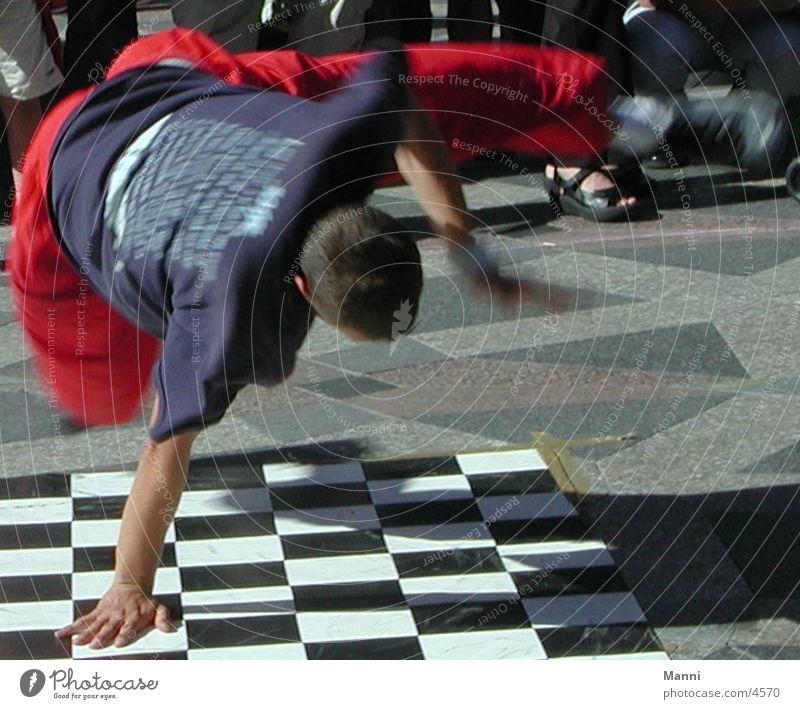 Streetdancer Mensch Straßentänzer